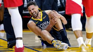 Klay Thompson suffering from ACL Injury